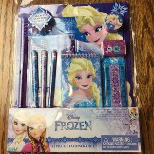 Disney Frozen 11pc stationary set for school